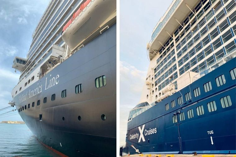 Koningsdam compared to Celebrity Edge