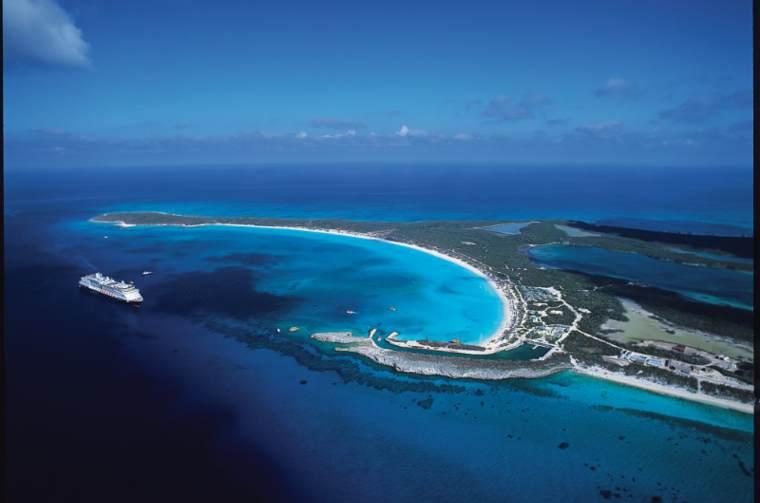 Half Moon Cay, Holland America Line's private Caribbean island