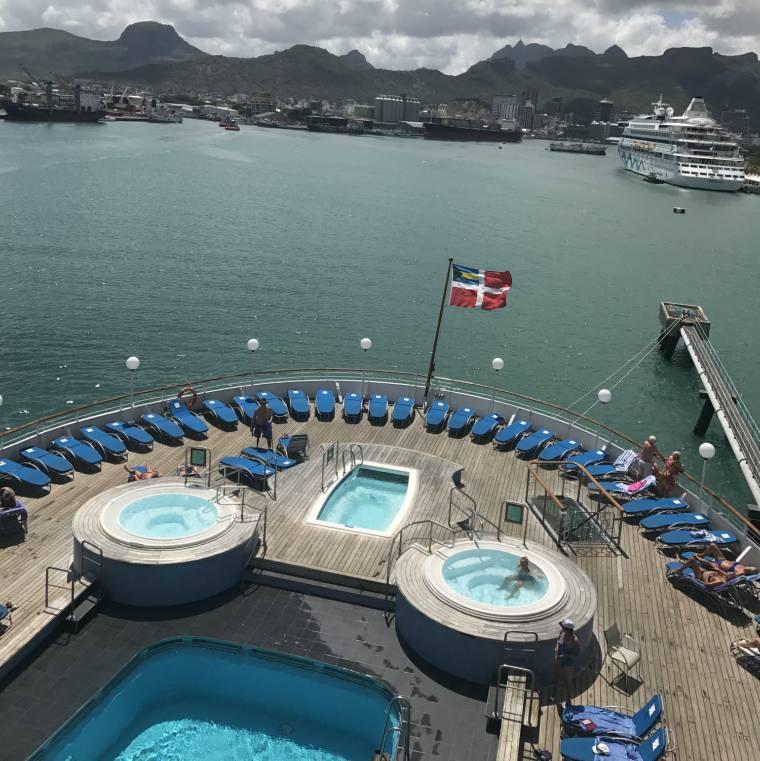 Fred Olsen Boudicca, Mauritius, Indian Ocean cruise