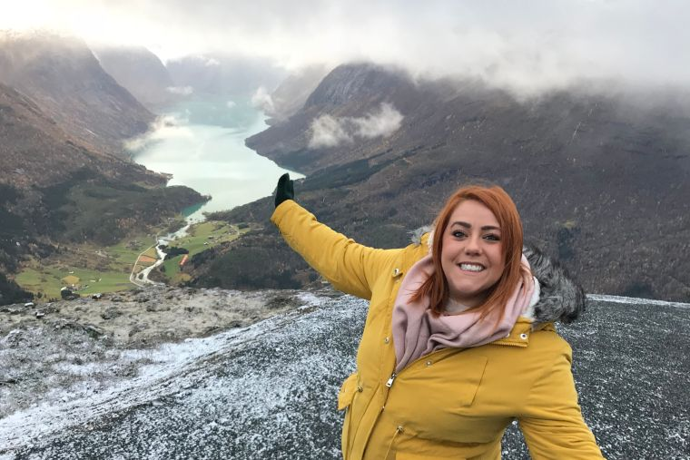 Iona Insider Nina in Norway