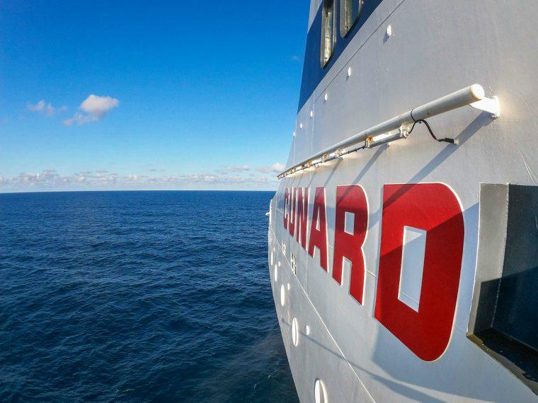 Cunard, Cunard at sea