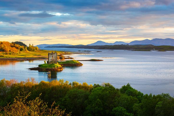 Castle in Skye, Scottish Inner Hebrides