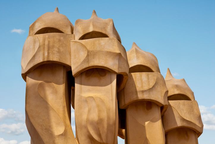 Gaudi's Casa Mila, Antoni Gaudi