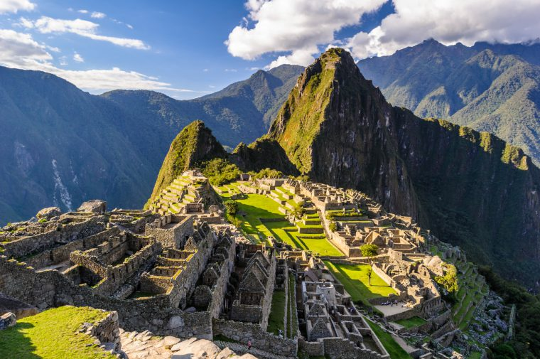 Machu Picchu, a Peruvian Historical Sanctuary in 1981 and a UNESCO World Heritage Site in 1983. One of the New Seven Wonders of the World