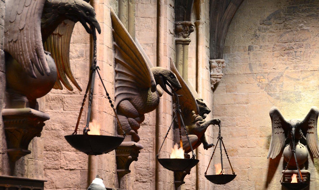 Hogwarts Great Hall, Harry Potter Warner Bros. Studio