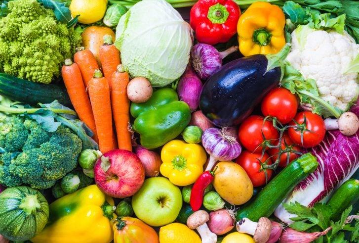 Vegetables and fruits, world vegan day, vegan tips for cruising