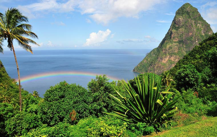 Caribbean cruise to St Lucia
