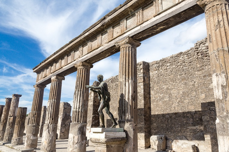 Pompeii trip from Naples