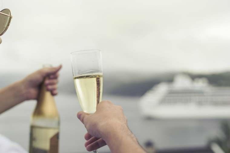 Luxury cruise holiday, holiday like an a-list
