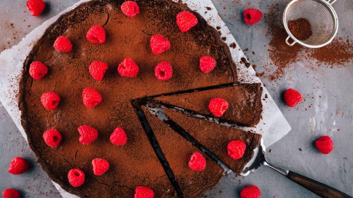 Culinary Corner: Cunard's Chocolate Orange Fallen Cake