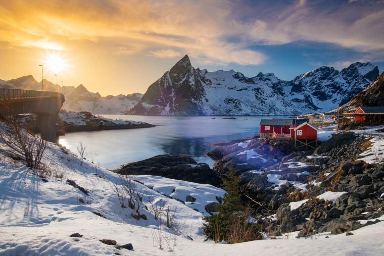 Lofoten Landscape, Norway