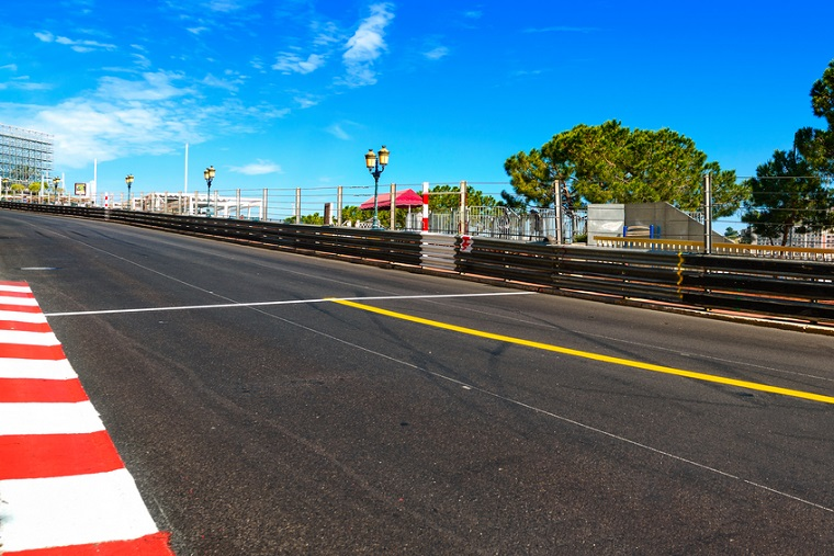 rand Prix street circuit. Monaco