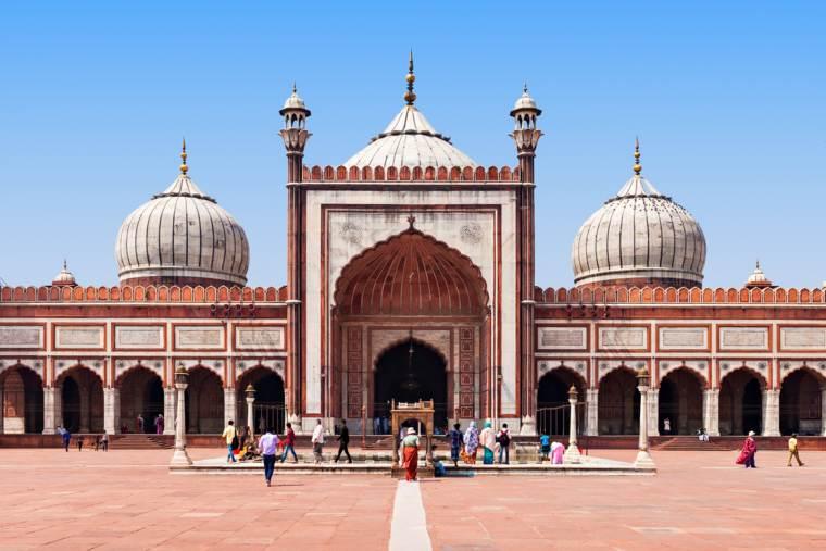 Jama Masjid mosque, India, New Dehli