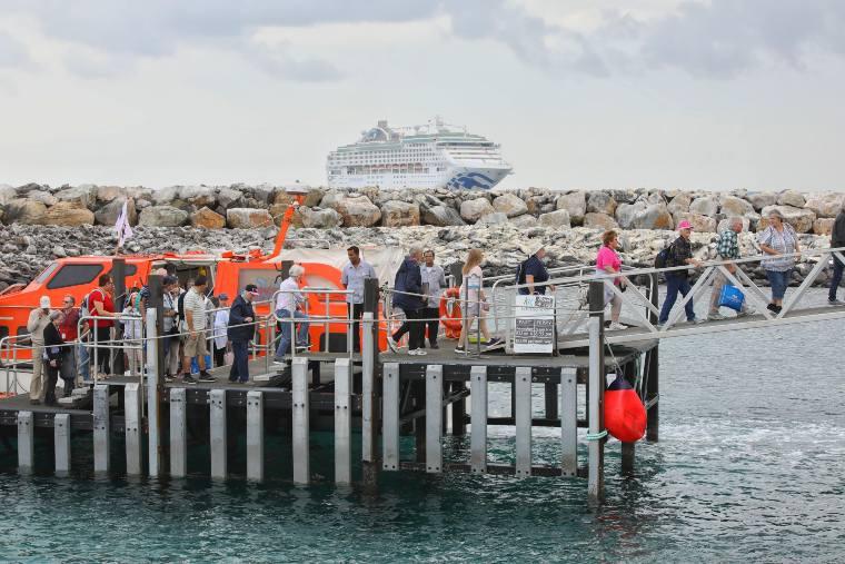 Kangaroo Island port visit with Princess Cruises