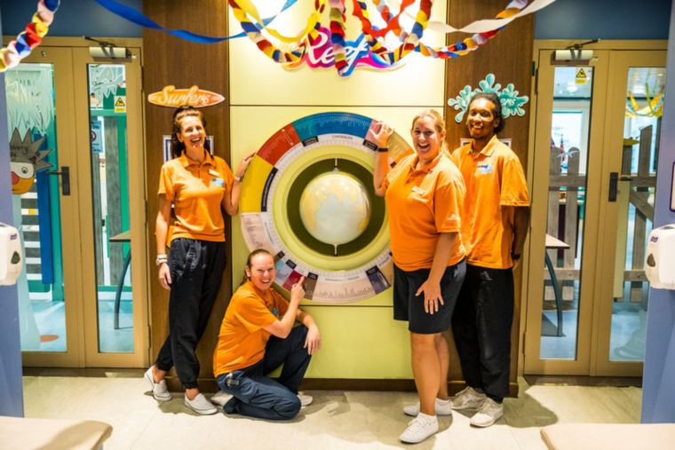 Kids club on P&O Cruises help make the perfect family holiday.