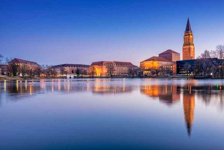 Kiel, Germany, Baltic sea city