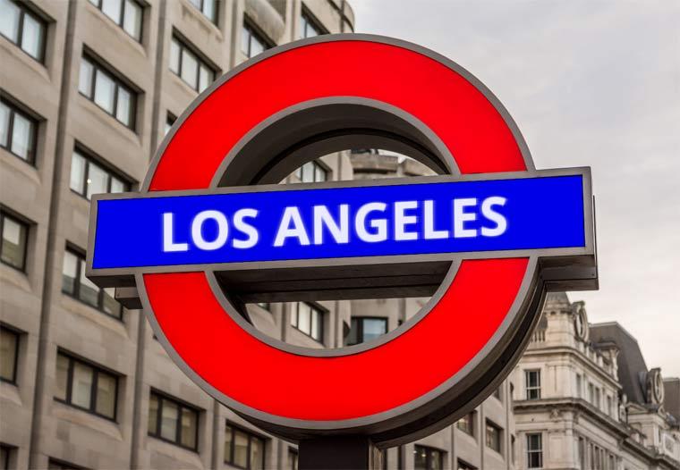 Los Angeles signpost