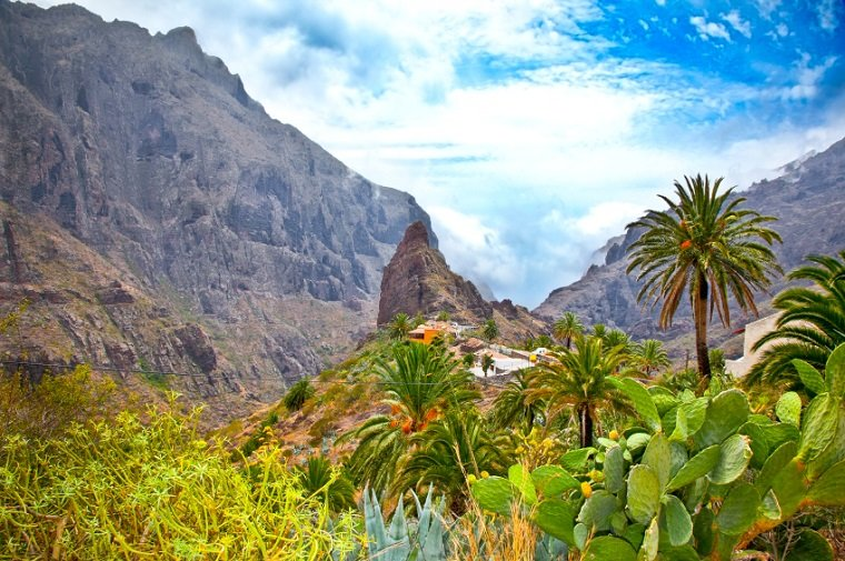 Masca village in Teno Mountains, Tenerife, Canary Islands, Spain