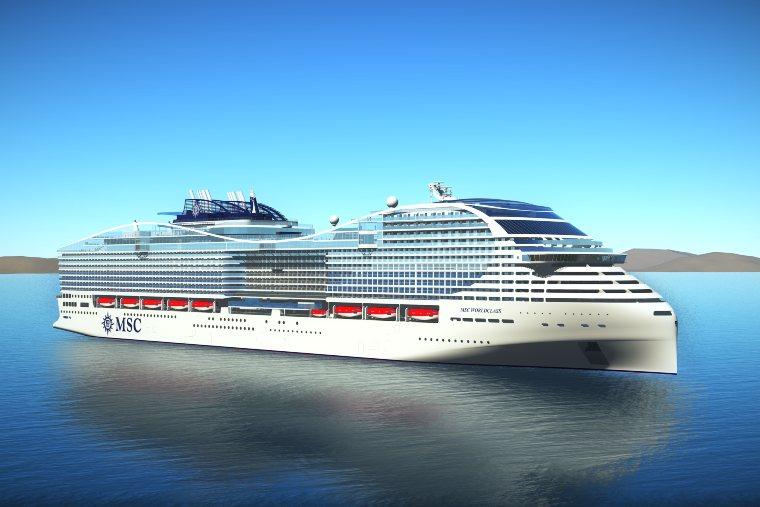 MSC Cruises LNG Powered ship