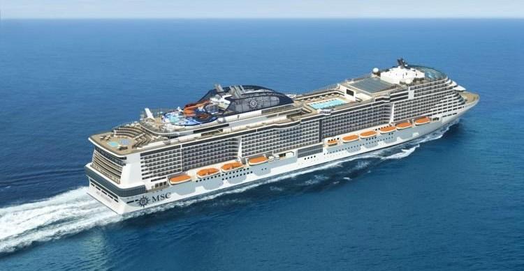 MSC Bellissima cruise ship