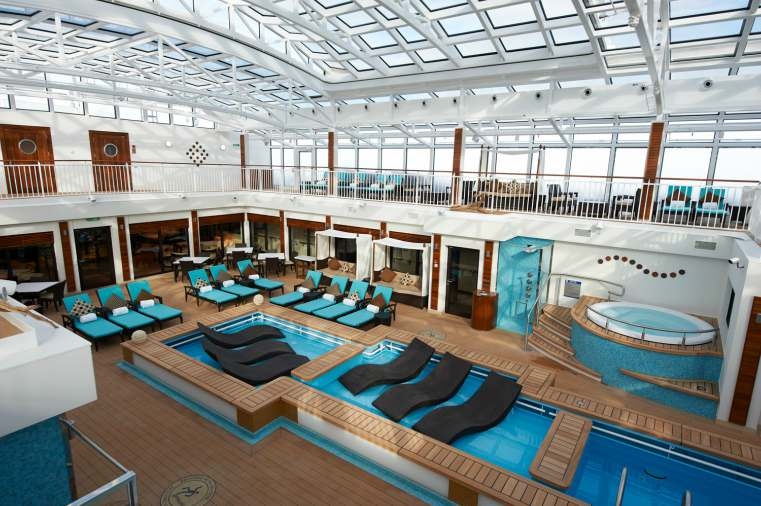 NCL Breakway Haven Courtyard - A-List Holiday Experience