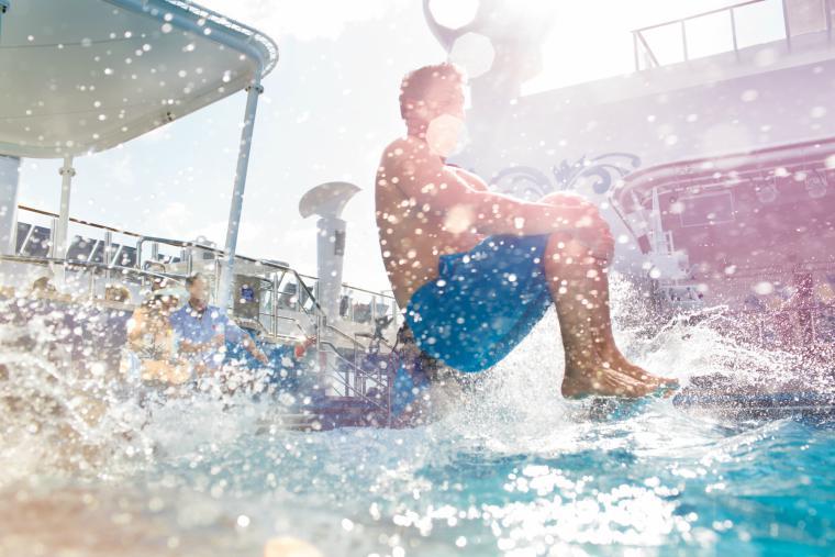 NCL Getaway Pool, Norwegian Cruise Line