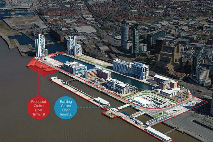 New Liverpool Cruise Terminal relocation image, Liverpool Cruise Terminal