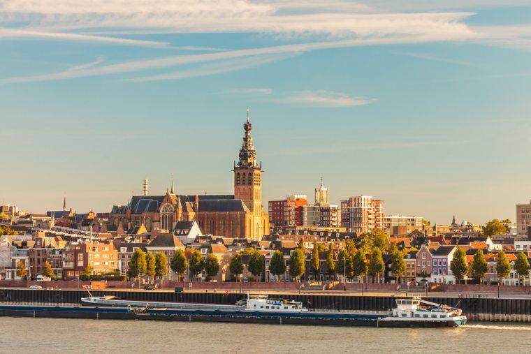 Nijmegen during sunset