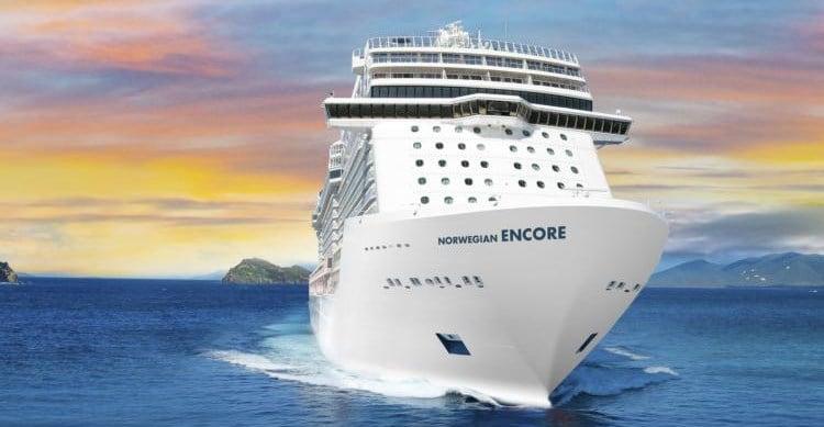 NCL Norwegian Encore new ship