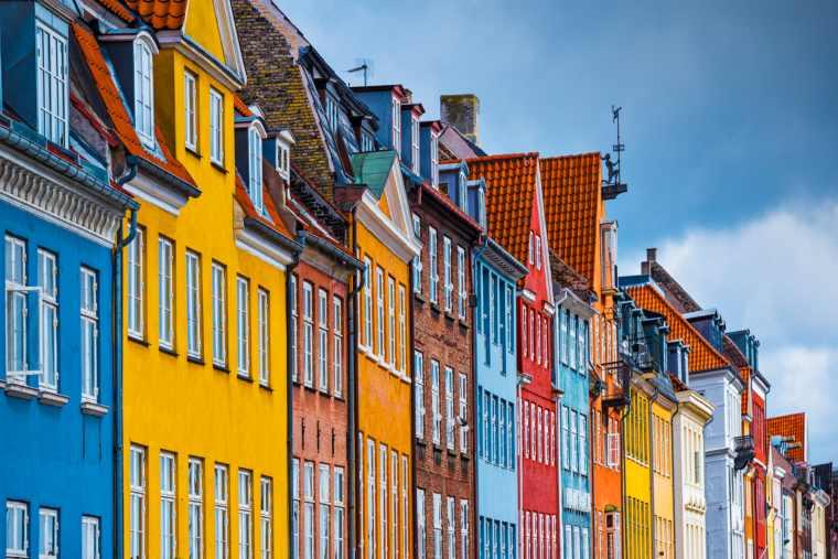 Nyhavn Buildings in Copenhagen