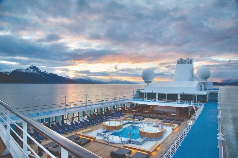 Oceania Cruises deck