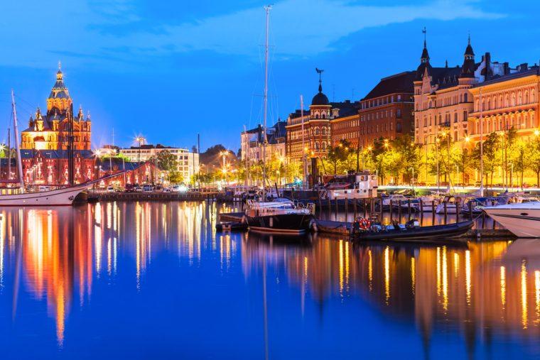Old Town, Helsinki, Finland