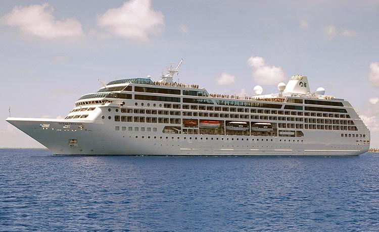 Pacific Princess, Princess Cruises