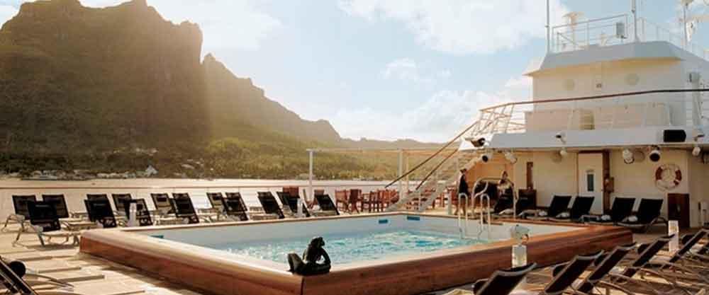 Paul Gauguin Deck Pool