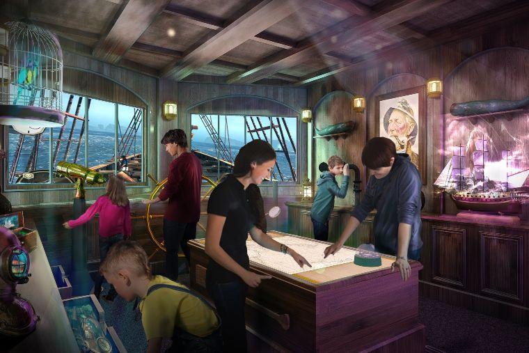 Phantom Bridge escape room Princess Cruises