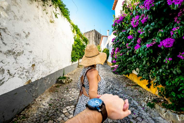 Places we're planning on heading - streets of Portugal