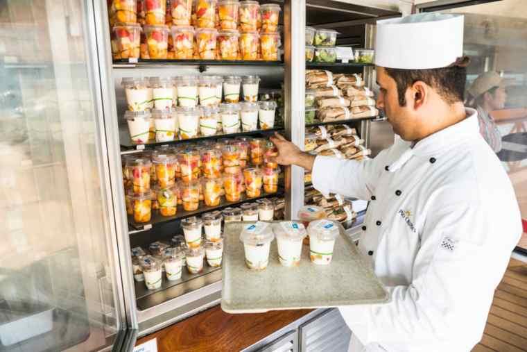 P&O Cruises grab & go fridges