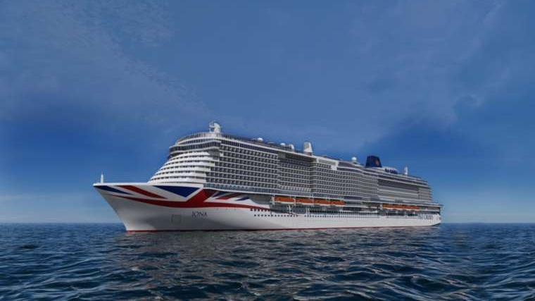 P&O Cruises new ship Iona