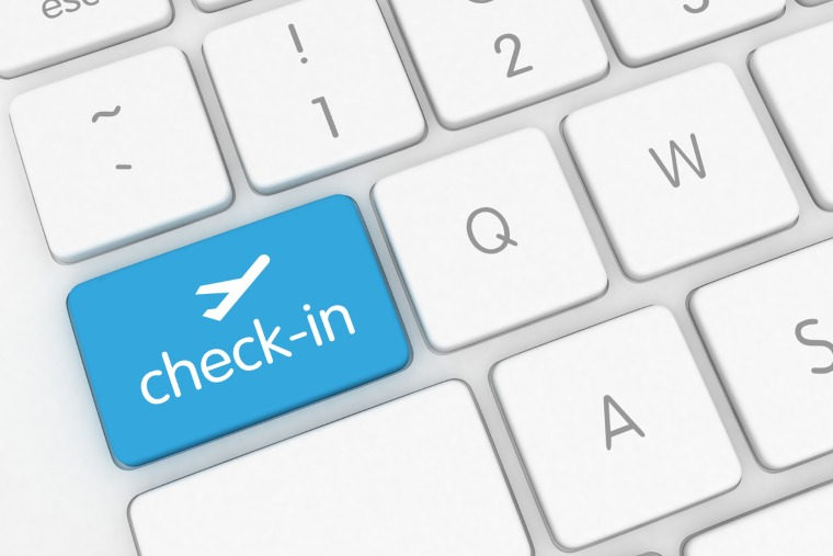 P&O Cruises online check-in