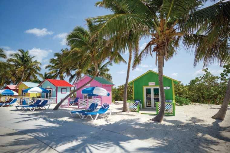 Princess Cays private island