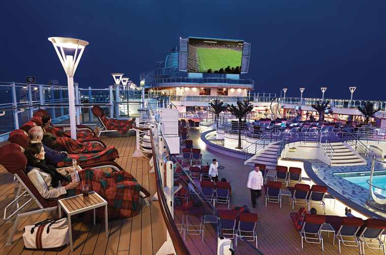 Princess Cruises' Movies Under the Stars and the 2018 World Cup
