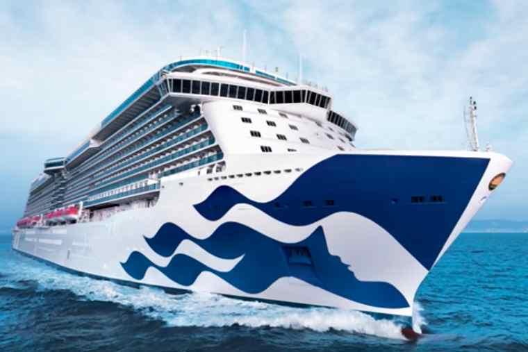 Princess Cruises ship at sea