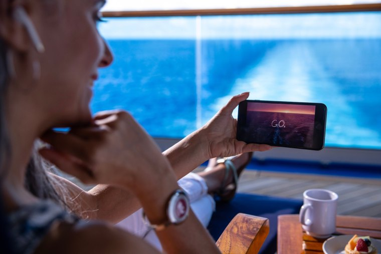 Princess Cruises wifi, MedallionNet