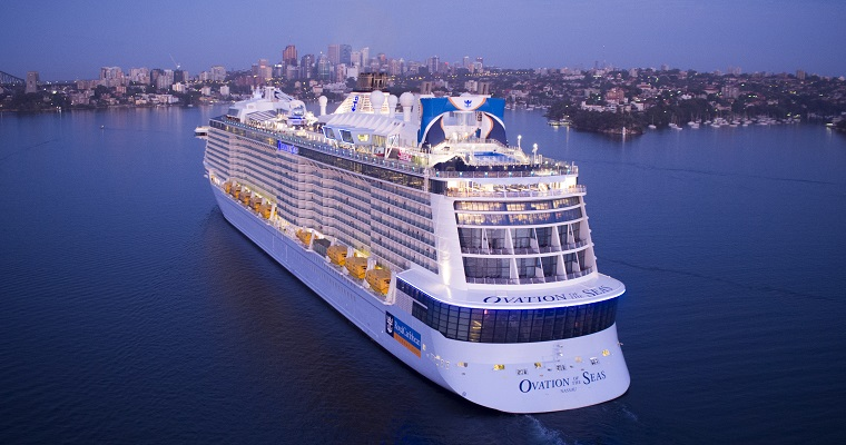 Ovation of the Seas, Sydney, Australia, Royal Caribbean