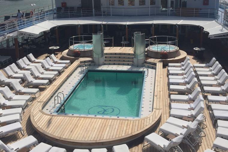 Regent Explorer Pool Deck