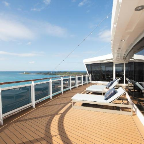Regent Seven seas cruise ship balcony