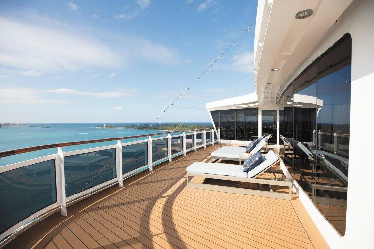 Regent Seven seas cruise ship balcony