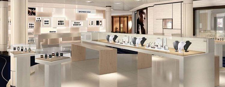 Retail shops as part of Celebrity Revolution