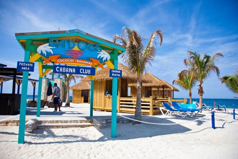 Royal Caribbean Cococay Cabanas