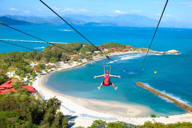 Royal Caribbean private Caribbean island Labadee Flightline